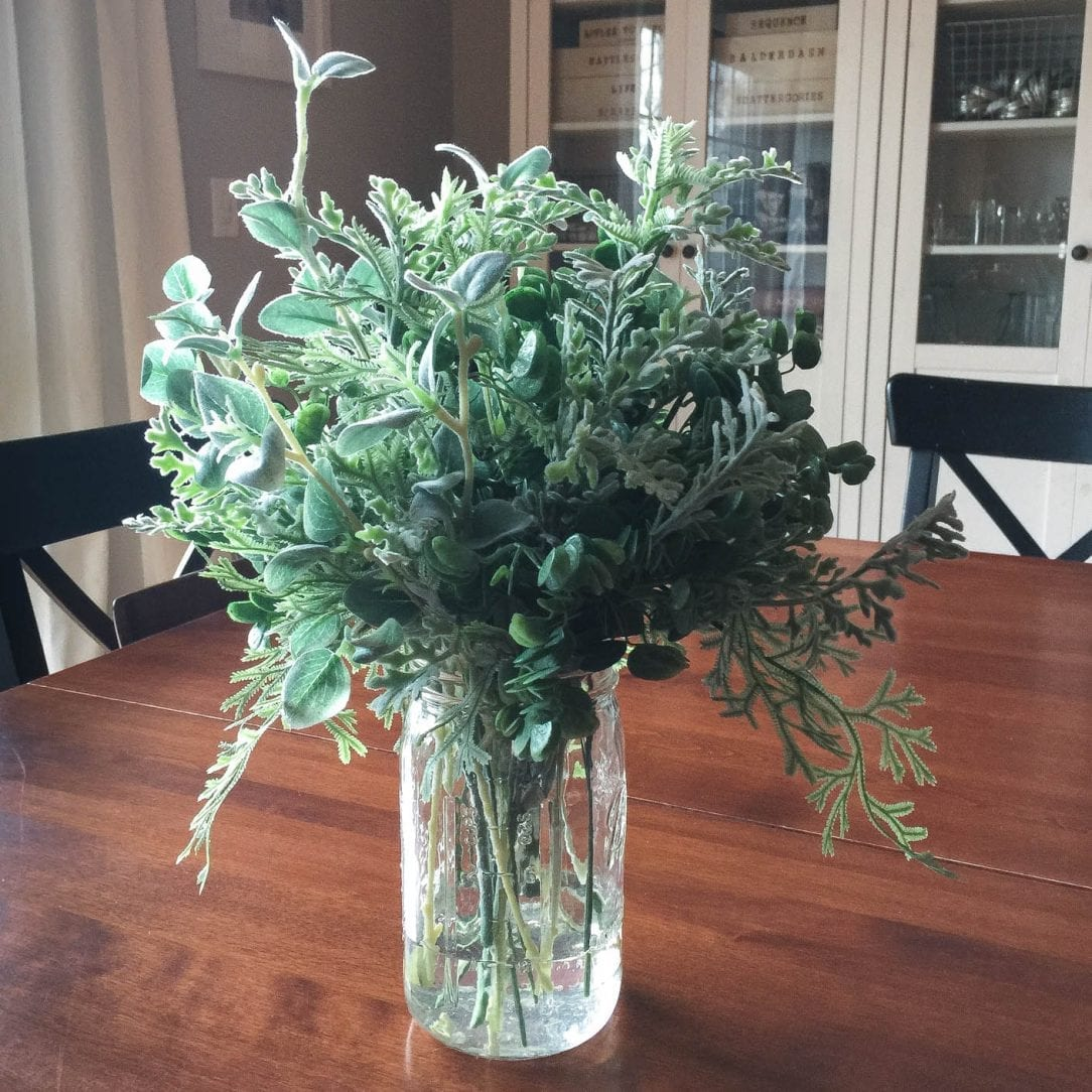 realistic floral and greenery arrangement tips white house black